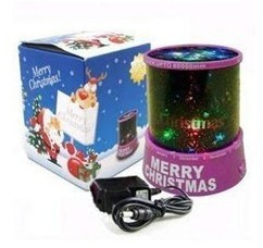 Merry Christmas Charming LED Projection Lamp