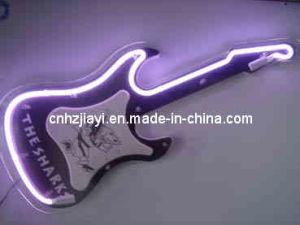 The Sharks Guitar Neon Clock