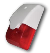 Wired Flash Siren Strobe Alarm Siren for Indoor (ES-8010) pictures & photos