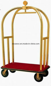 Luxury Hotel Bellman′s Luggage Cart (DF40) pictures & photos