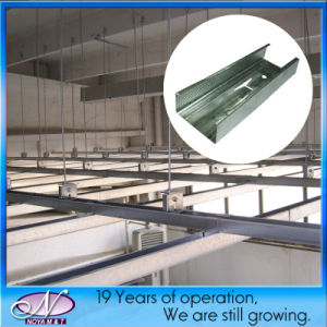 Interior Wall Partition and Suspended Ceiling Metal Steel Profile pictures & photos