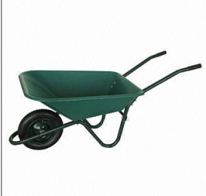 Wheelbarrow with 62.5L Water Capacity and 120kg Load Capacity
