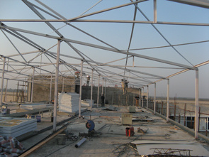 Hot Dipped Galvanized Steel Structure - 6