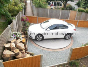 Residential Outdoor Vehicle Platform Rotating Car Park Turntable pictures & photos