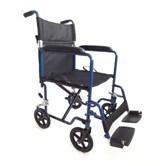 Transport Wheelchair Aluminum Wheelchair (Hz112-01-12) pictures & photos
