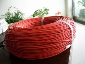 Heat Resistant Fiberglass Braided Wire / Cable pictures & photos