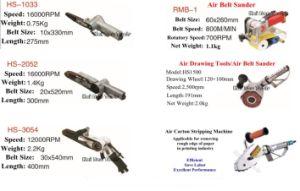 Air Belt Sander Pneumatic Belt Polisher Polishing Machine Air Belt Sanding Tools with Abrasive Belt Pneumatic Carton Stripping Machine Waste Stripper pictures & photos