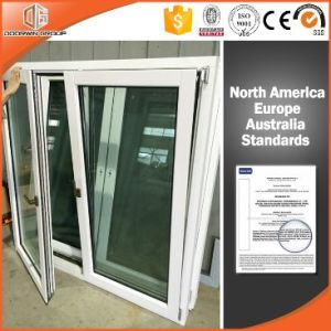 Italy Type Aluminum Clad Solid Wood Casement Windows pictures & photos