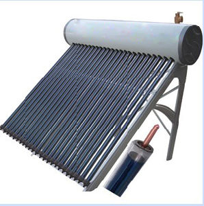 etc Heat Pipe with Vacuum Tube Solar Heater pictures & photos
