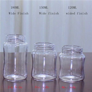 120ml Clear Borosilicate Glass Bottle pictures & photos