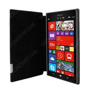 Black Frama Slim Leather Case for Nokia Lumia 1520 pictures & photos