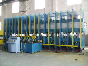 Conveyor Belt Hydraulic System Vulcanizing Press (XLB-1400X5700X80) pictures & photos