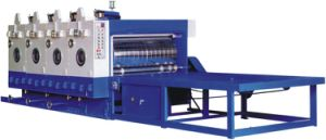 Chain-Fed Flexo Printer