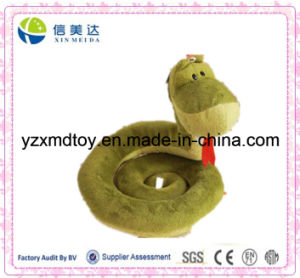 Green Snake Soft Plush Toy pictures & photos