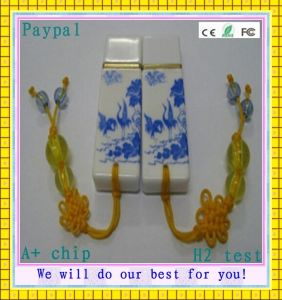 Factory Price Full Capacity Ceramics USB Flash Drive (GC-C30) pictures & photos