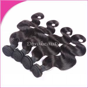 Natural Black Human Hair Brazilian Body Wave 8A Virgin Hair pictures & photos