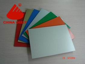 Aluminium Plastic Composite Panel (Geely-022) pictures & photos