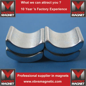 Strong Magnetic Tile Radially Magnetized Alternately N35-N54, 35m-52m, 33h-50h, 33sh-45sh, 30uh-42uh, 30eh-38eh, and 28ah-33ahb pictures & photos