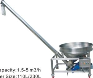 Powder Refeeding Auger Device pictures & photos