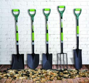 Garden Tools Forged Steel Drain Spade Trenching Shovel with Fibreglass Handle pictures & photos