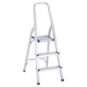 Home-Used 3 Step Folding Aluminium Step Ladder pictures & photos
