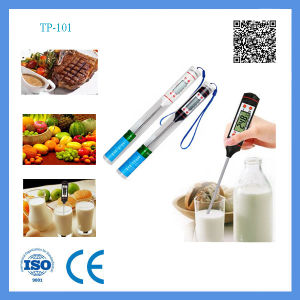 Eco-Friendly Stainless Probe Cooking Thermometer for Food pictures & photos