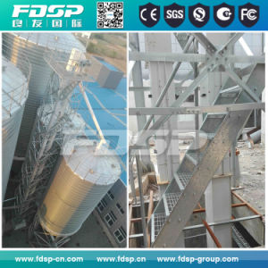 Ce Certified Customized Corrugated Grain Silo Rapeseed Meal Silo pictures & photos