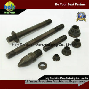 Black Oxide CNC Lathe Machining Steel CNC Machining Parts pictures & photos