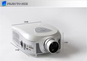 Yi-807 WVGA Multifunction 720p Projector Support 3D USB HDMI TV pictures & photos