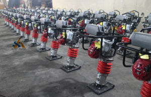 Jumping Jack Tamper Vibratory Tamping Rammer pictures & photos