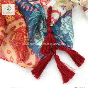Nepal National Style Shawl Lady Fashion Scarf pictures & photos