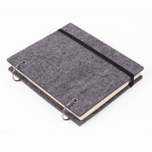 Hardcover Customized Notebook with Ring Binder pictures & photos