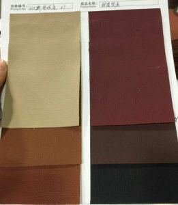 Artificial Leather Synthetic Leather for Car Seat Cover pictures & photos
