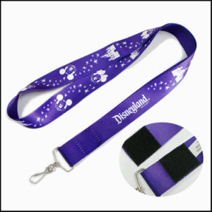 Polyester Online Dye Sublimation/Heat Transfer Logo Custom Lanyard for Childen pictures & photos