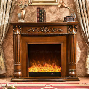 European MDF Heater Electric Fireplace Living Room Furniture (339) pictures & photos
