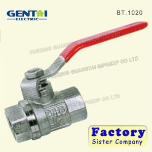 Hot Selling Brass Forged Female Ball Valve pictures & photos