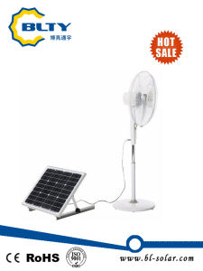 DC Solar Power Fan with Remote Control and Solar Panel pictures & photos