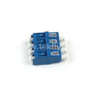 3dB/5dB/10dB/15dB/Fixed Type LC Fiber Optic Attenuator pictures & photos