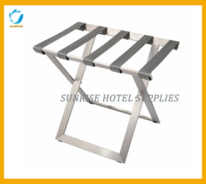 Stainless Steel Folding Luggage Rack for Hotel pictures & photos