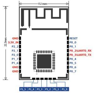 Cc2530 Wireless Zigbee Module Transmission 100~1km pictures & photos