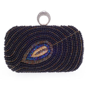 New Arrival crystal Beaded Evening Bags Acrylic Clutch Handbag Wallets Eb760 pictures & photos