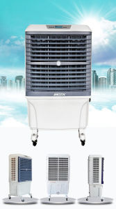 Great Remote Control Portable Evaporative Axial Cooling Fan with Humidity Display pictures & photos