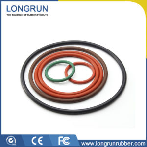 Oil Resistant Customized Rubber Silicone O Ring pictures & photos