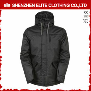 Solid Black High Quality Cheap Ski Jackets Men Winter (ELTSNBJI-58) pictures & photos