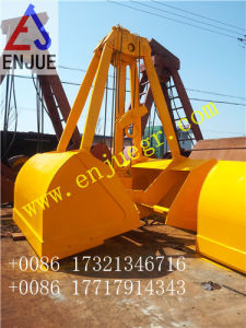 Single Rope Touch Down Open Clamshell Grab Bucket Hydraulic Grab pictures & photos