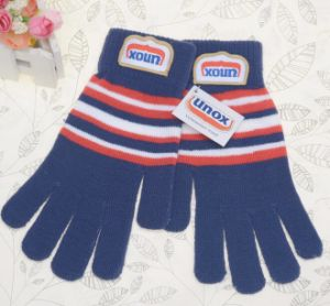 Comfort Jacquard Screen Touch Winter Gloves pictures & photos