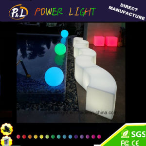 Hotselling Plastic Furniture LED Outdoor Chairs pictures & photos