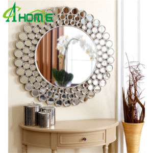 Round Handmade Cheap Mirror Spell Wall Mirror pictures & photos