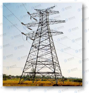 Durable Transmission Lattice Steel Line Tower pictures & photos