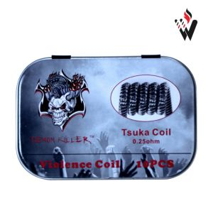 Vivismoke 2016 Hot Selling Demon Killer Violence Tsuka Coil for Vape Wholesale